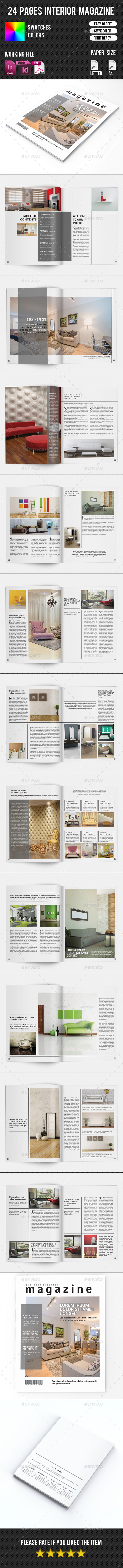GraphicRiver Interior Magazine Template-V07 10797082