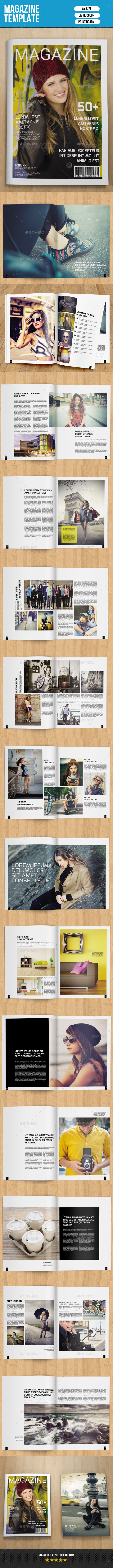 GraphicRiver Minimal Fashion Magazine-V06 10797113