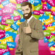 Vector Business Man With Beard Shows Well Done - GraphicRiver Item for Sale