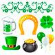 Saint Patrick's Day Symbols - GraphicRiver Item for Sale