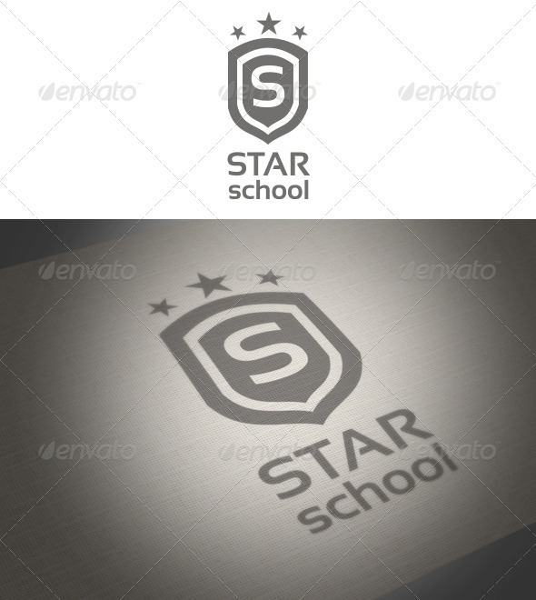 Star School Logo - Symbols Logo Templates