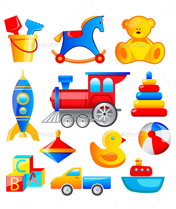 GraphicRiver Colorful Toys 10797753