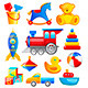 Colorful Toys - GraphicRiver Item for Sale
