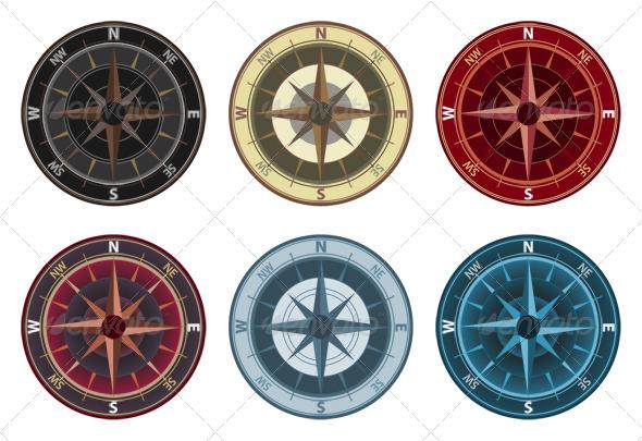 GraphicRiver Compass 134573