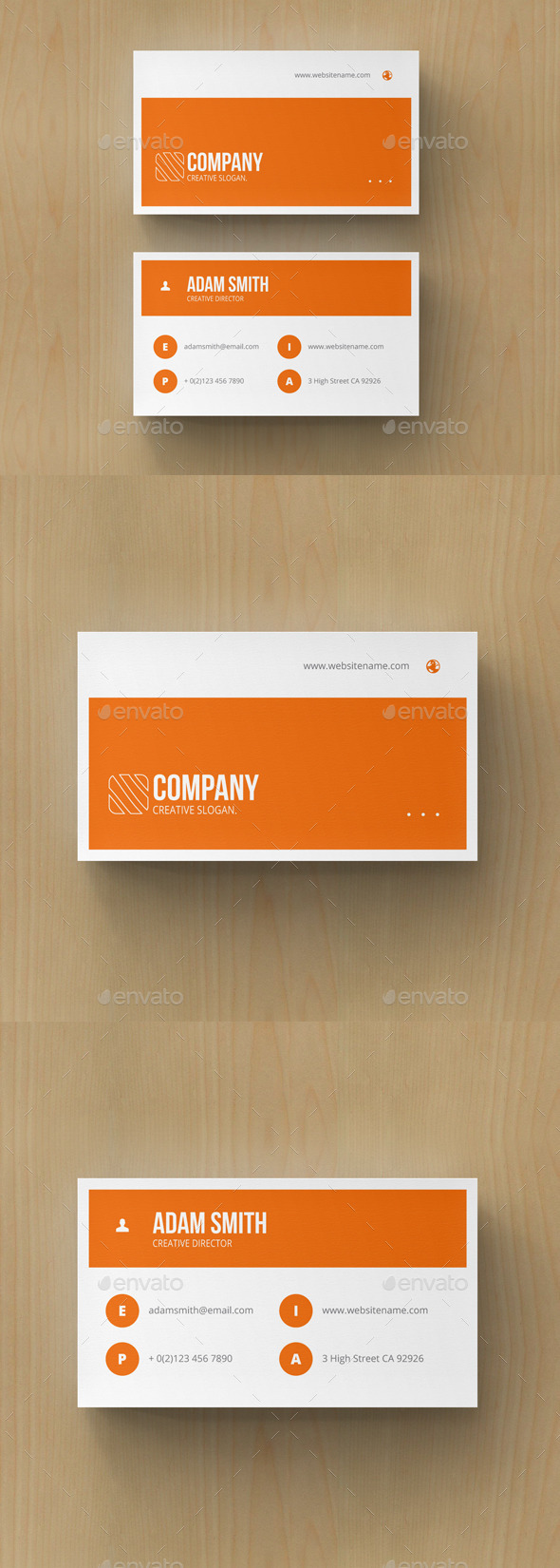 GraphicRiver Minimal Business Card 10797933