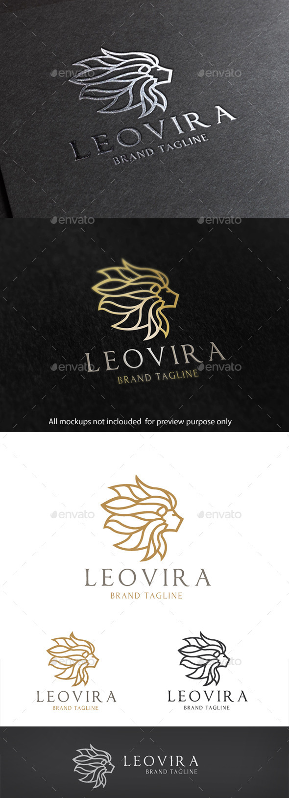 GraphicRiver Lion Brand 10798456