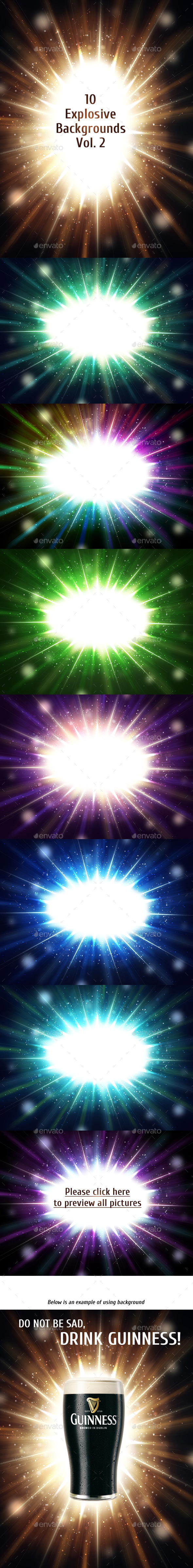 GraphicRiver Explosive Backgrounds Vol 2 10798586
