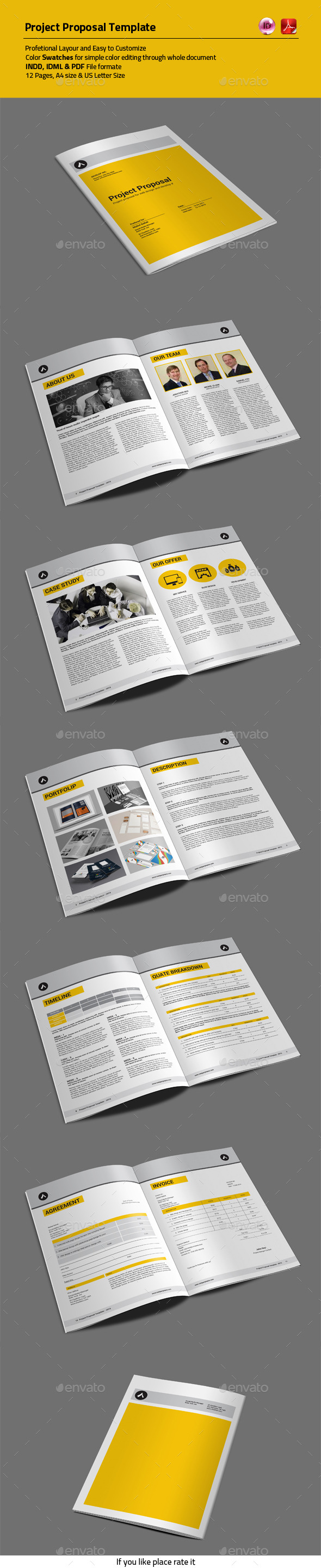 GraphicRiver Project Proposal Template 10798587