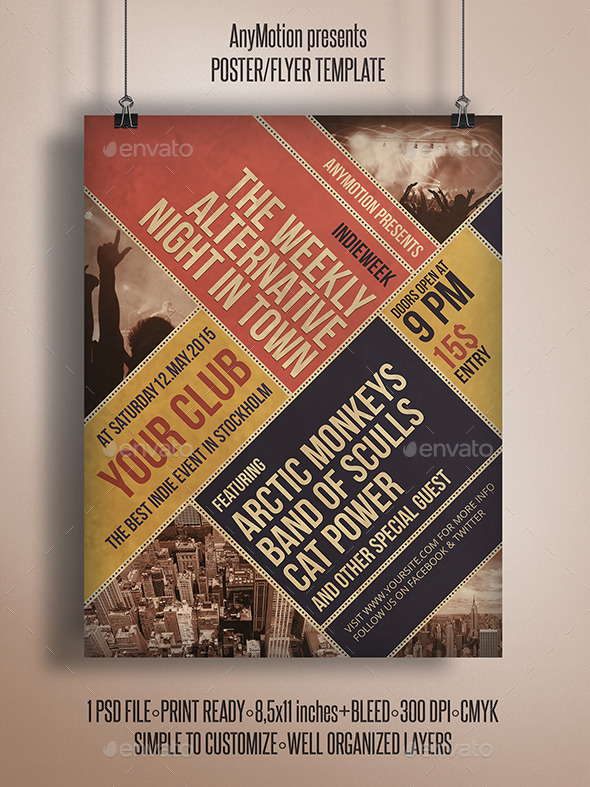 GraphicRiver Indieweek Flyer Print Template 10798711