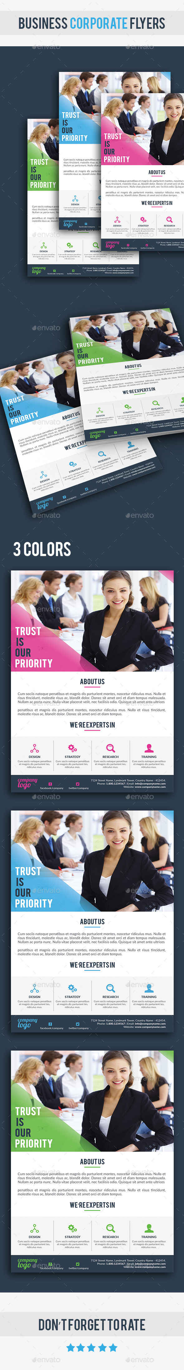 GraphicRiver Business Corporate Flyer 10798893