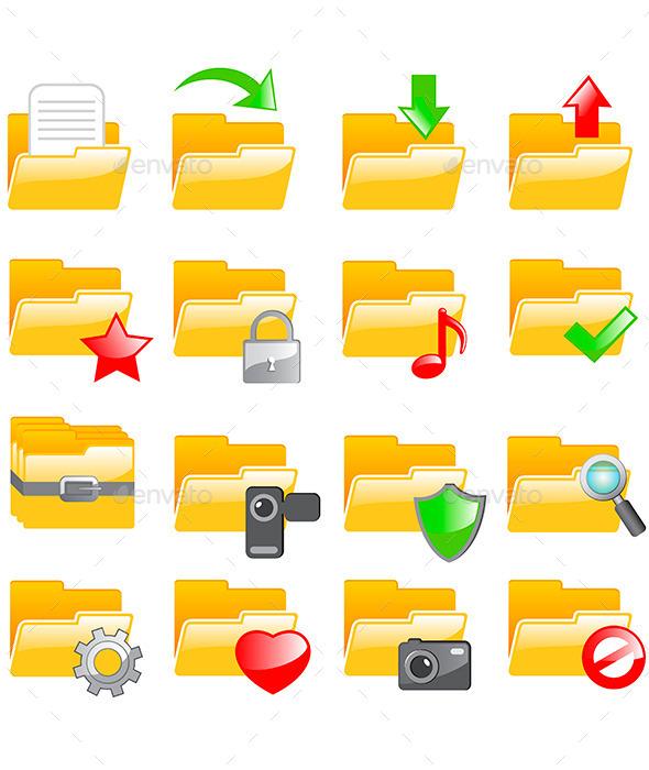 GraphicRiver Folders 10799327