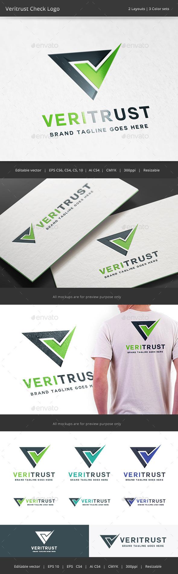GraphicRiver Veritrust Check Logo 10799492