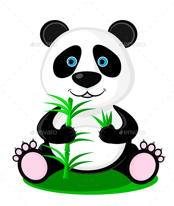 GraphicRiver Panda Bear 10799505