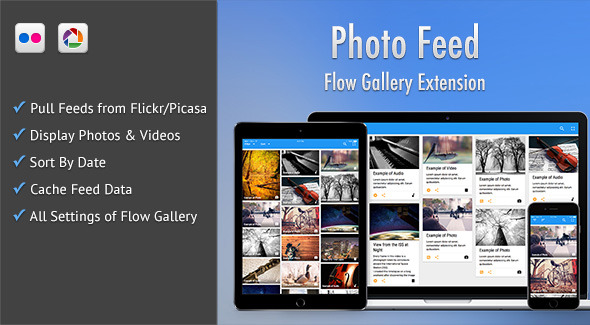 CodeCanyon Photo Feed Flow Gallery Exension 10800578