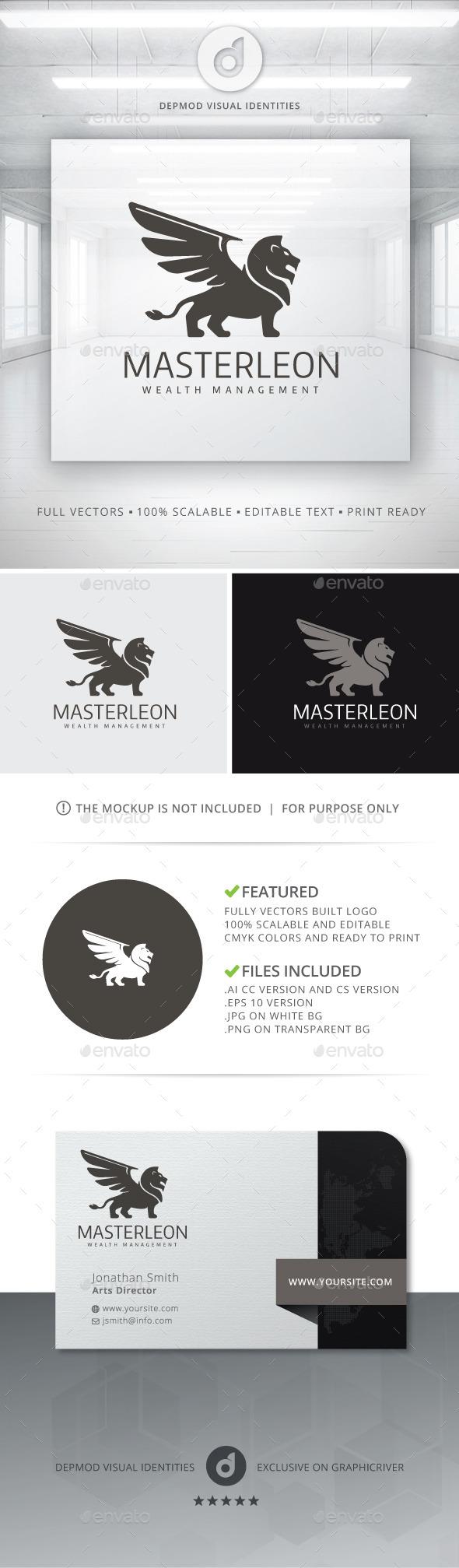 GraphicRiver Master Leon Logo 10800645