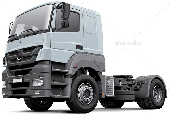 GraphicRiver European Commercial Freight Vehicle 10796185