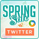 Spring Sale Twitter Header - GraphicRiver Item for Sale
