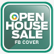 Real Estate Open House Facebook Cover - GraphicRiver Item for Sale