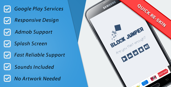 CodeCanyon Block Jumper Admob & Leaderboard & Share & Rate 10743098