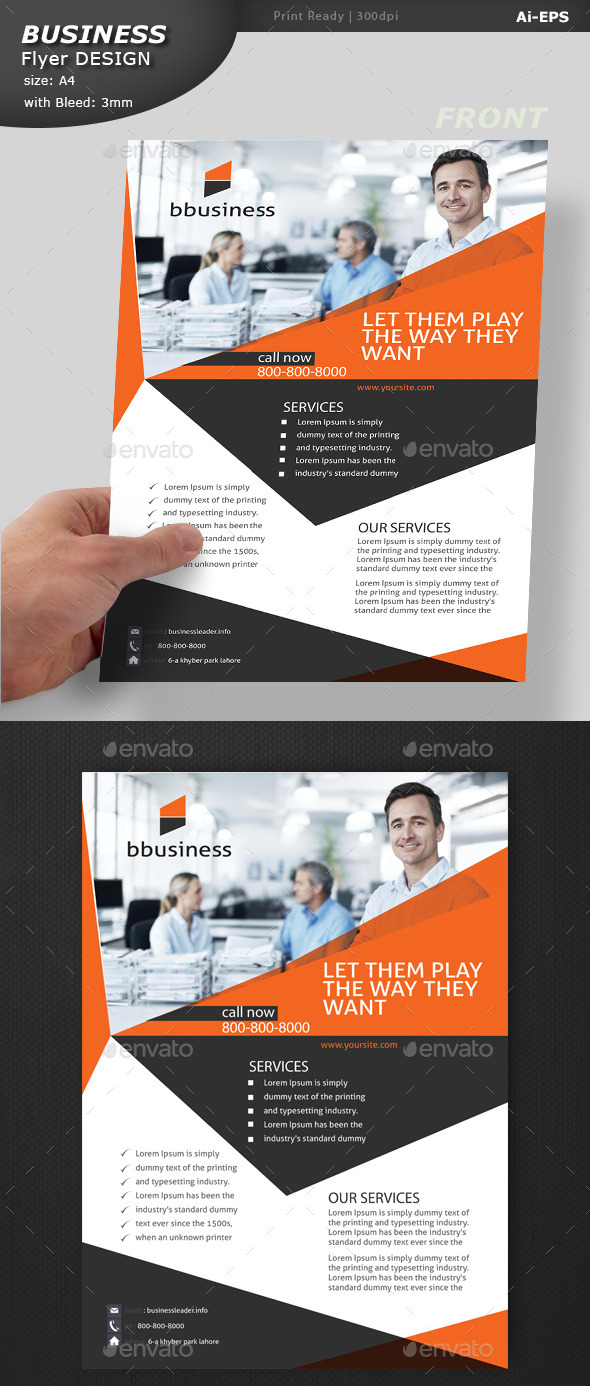 GraphicRiver Business Flyer Design 10801477