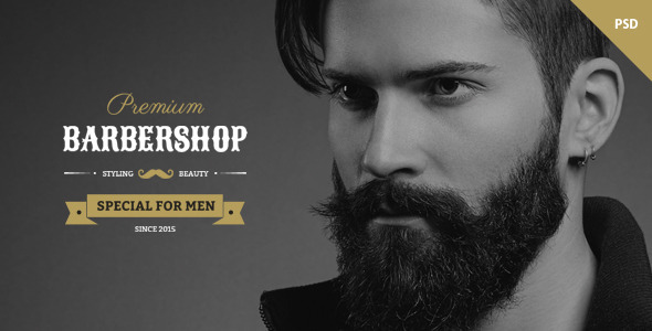 ThemeForest Barbershop One Page Barbers Theme 10571788