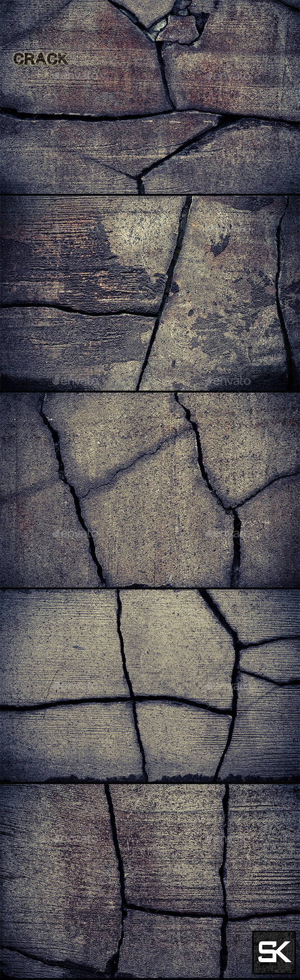 GraphicRiver Crack In The Stone 2 10801819