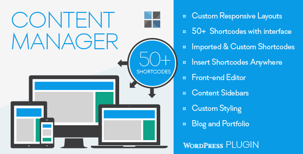Content Manager for WordPress - CodeCanyon Item for Sale
