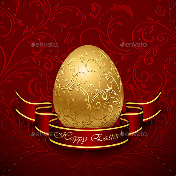 GraphicRiver Decorative Easter Egg 10802110