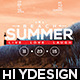 Beach Summer Flyer - GraphicRiver Item for Sale