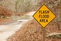 Flash Flood Area Sign - PhotoDune Item for Sale