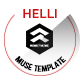 Helli Creative Muse Template - ThemeForest Item for Sale