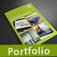 Website Portfolio Brochure - GraphicRiver Item for Sale