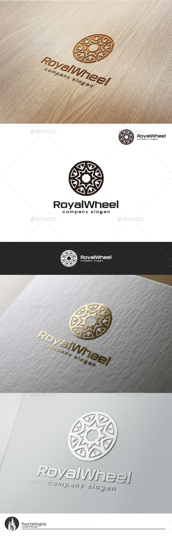 GraphicRiver Royal Wheel Logo 10803469