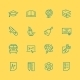 Vector School and Education Icon Set - GraphicRiver Item for Sale
