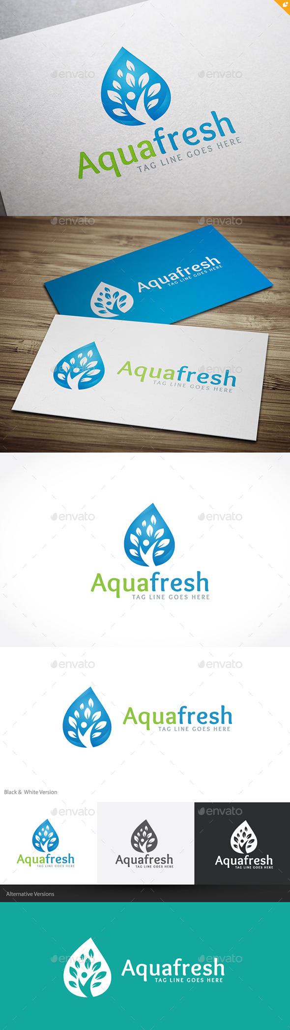 GraphicRiver Aqua Fresh 10803713