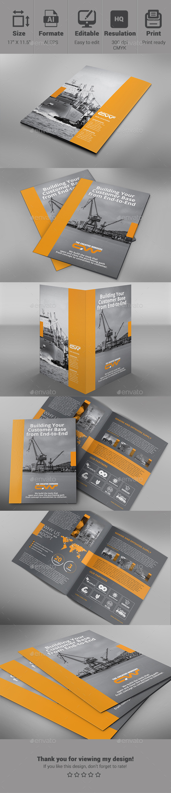 GraphicRiver Bifold Shipyard Template 10716967