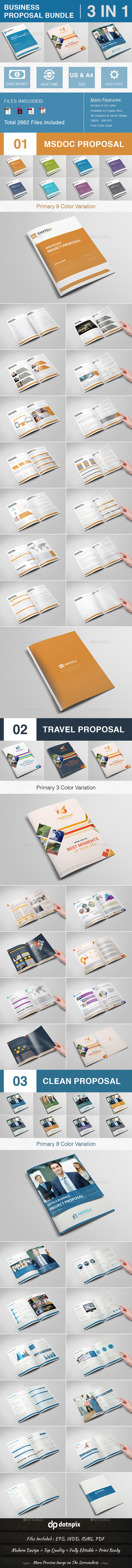 GraphicRiver Business Proposal Bundle Volume 1 10738965