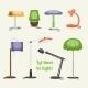 Furniture Lamp Set - GraphicRiver Item for Sale