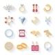 Jewelry Icons Set