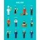 Vector Hotel Staff - GraphicRiver Item for Sale