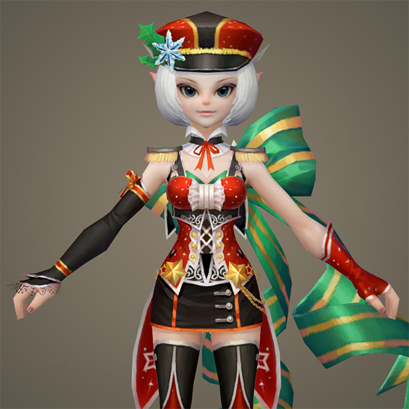 Toon character Robine - 3DOcean Item for Sale