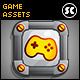 Gold Metal Game GUI - GraphicRiver Item for Sale