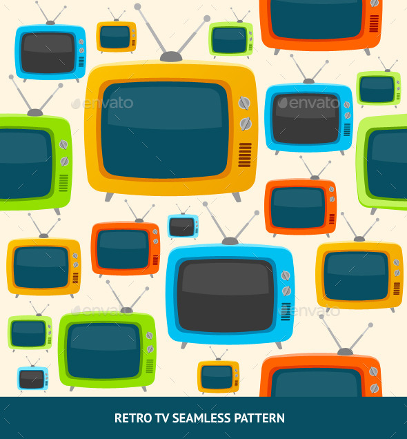 GraphicRiver TV Pattern 10804637