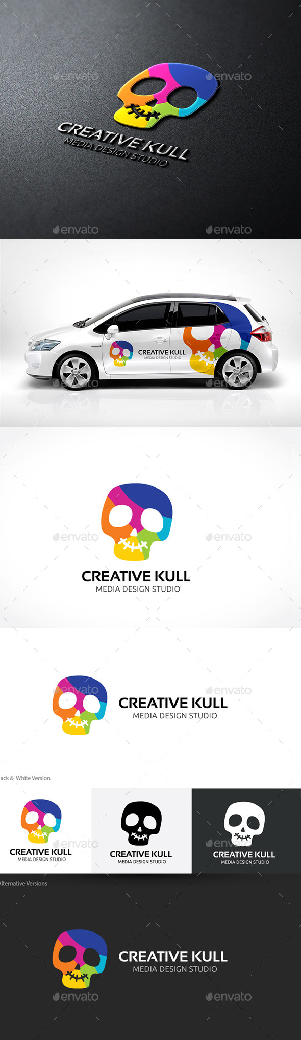 GraphicRiver Creative Skull 10804823