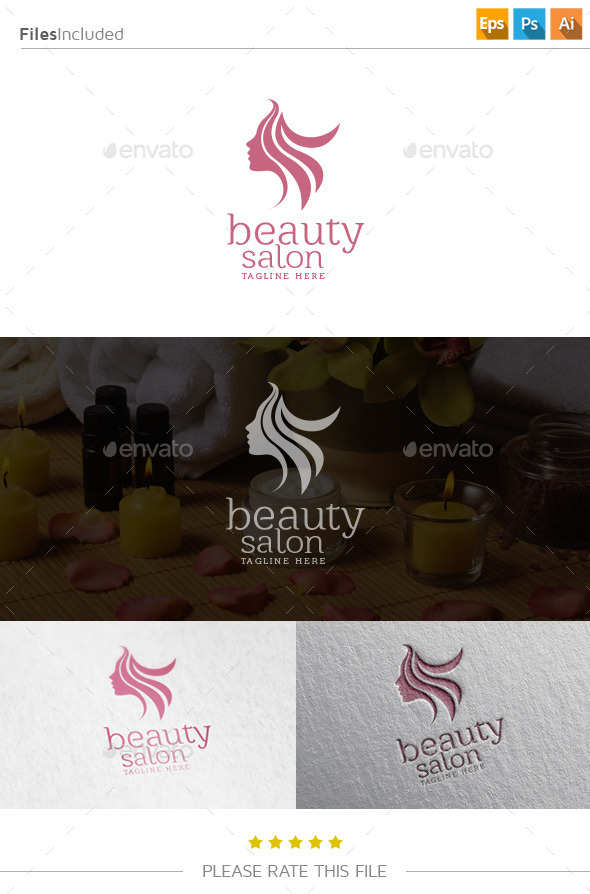 GraphicRiver Beauty Salon Spa Logo 10804840