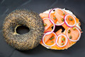 Bagel with Salmon and Cream Cheese - PhotoDune Item for Sale