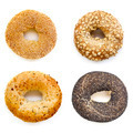 Bagels Collection Isolated on White - PhotoDune Item for Sale