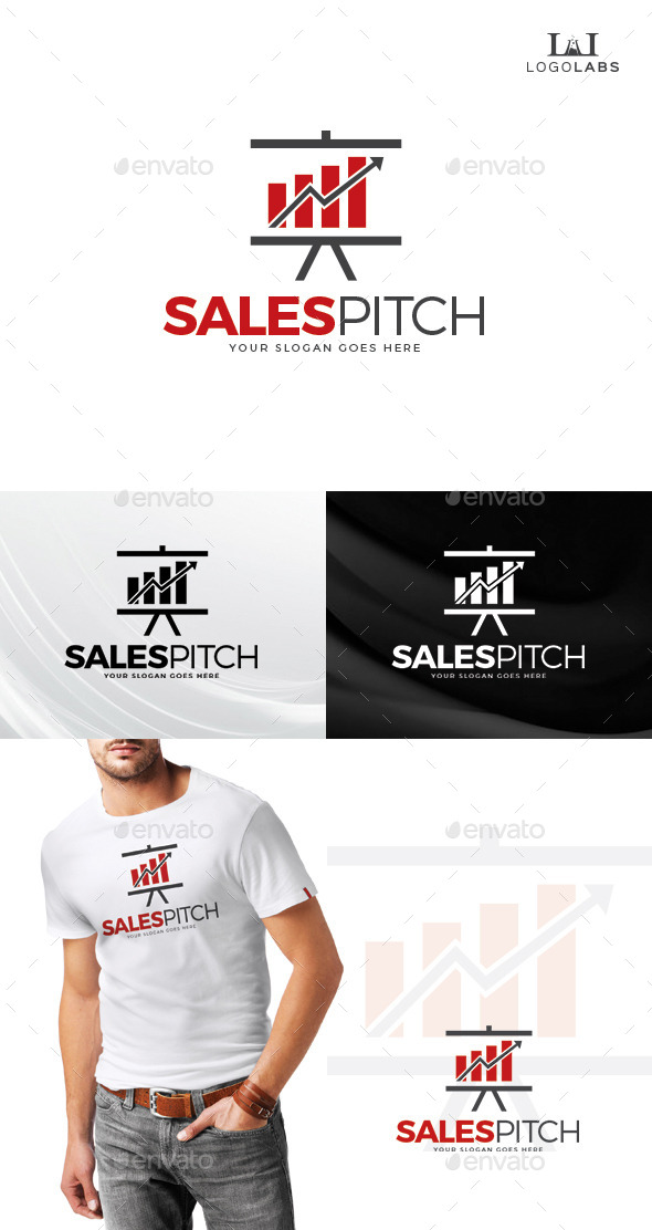 GraphicRiver Sales Pitch Logo 10805269