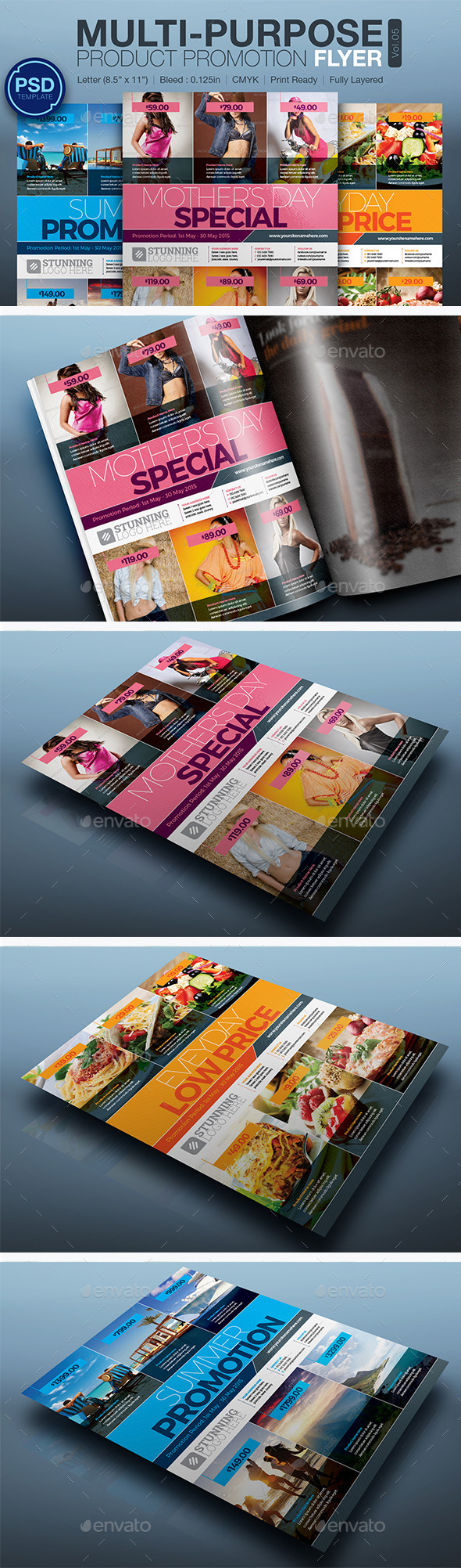 GraphicRiver Product Promotion Flyer Vol.05 10805276