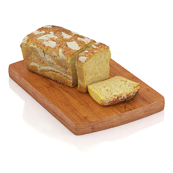 3DOcean Sliced wholemeal bread 10805508